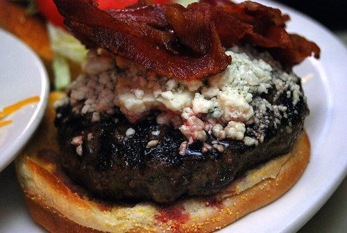 Hard Times _ Bleu Cheese Burger