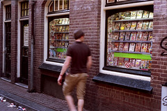 Hazy but horny (futile81) Tags: film amsterdam 35mm magazine minolta redlight