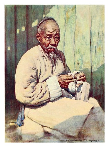 011-Un zapatero-China 1909- Mortimer Menpes