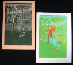 Peter Forster's De Profundis woodblock prints