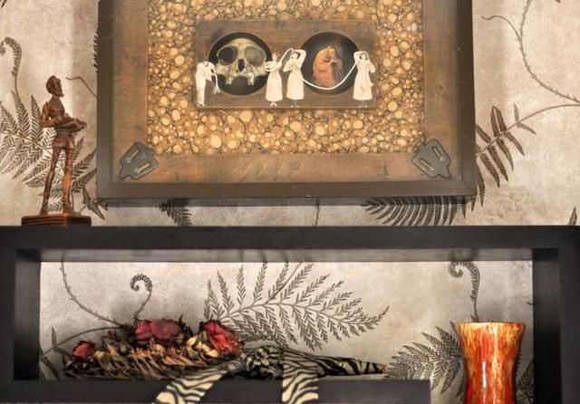 art-creepy art-james watkinson collage sculpture bos