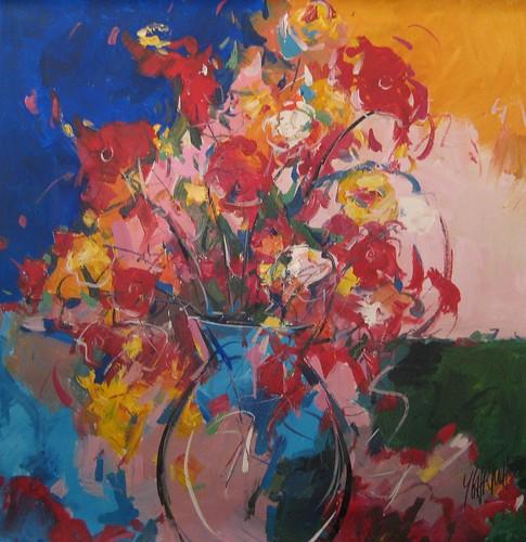 Flowers Romance  Painting