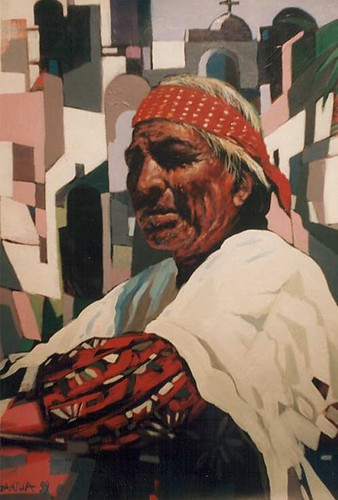 Mexican Native - Painting - Realism