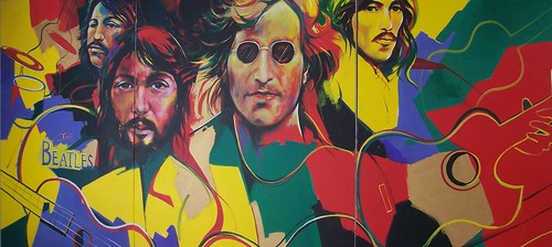 The Beatles - Painting by Paul Ygartua