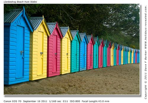 Llanbedrog Beach Huts Wales