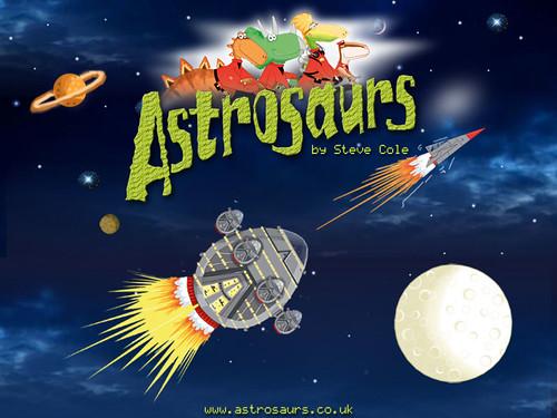 Steve Cole, Astrosaurs