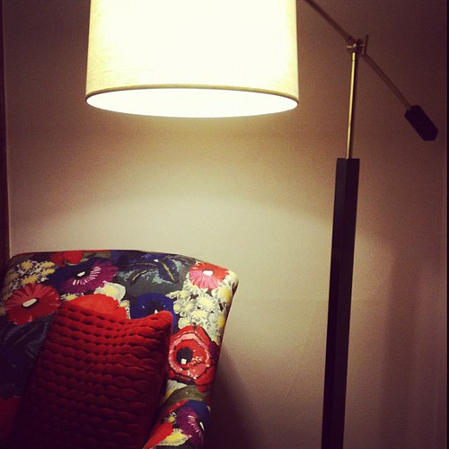 I found a floor lamp to light up my life.