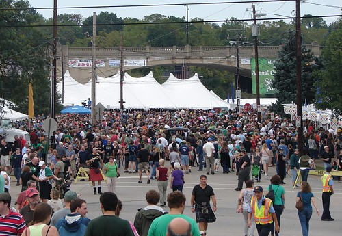 Celtic Fest Crowd