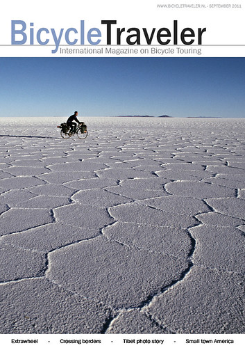 Bicycle Traveler Magazine Cover