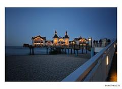 postkartenmotiv rmischzwo (bauingenieuse) Tags: sea strand meer urlaub rgen ostsee sellin seebrcke 2011 60d
