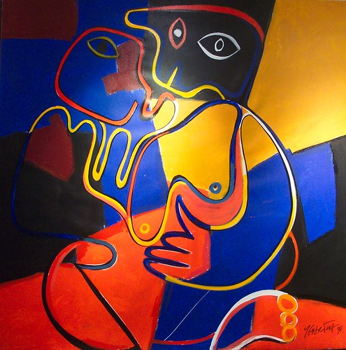 Man and Woman - Painting