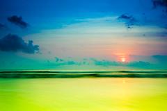 [フリー画像] 自然・風景, 海, 空, インドネシア, 201109290500