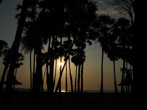Sunset at Lasiana Beach, Kupang, NTT
