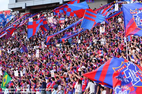 FC東京ゴール裏 国立競技場