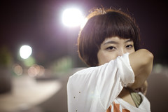 [Free Image] People, Women, Asian Women, Short Hair, 201110012100