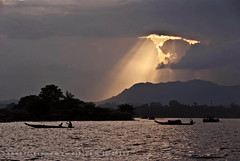 Kaptai Lake, Rangamati   {EXPLORED} (Sharif Ripon (totographer)) Tags: light sunset lake tourism nature project river landscape boat nikon ray village hill transport tribal bangladesh touristspot cht kaptai karnafuly gettyimagesbangladeshq2 hydroelectra