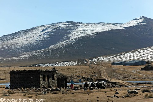 Rural life in Lesotho