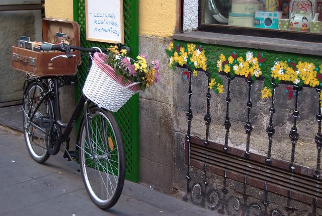 La más fotografiada (Que levante la mano quien no tenga una fotografía de esta bici).