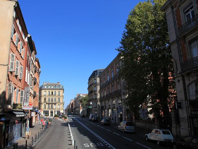 Rue du languedoc. Toulouse