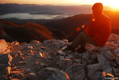 Sunrise from Vihren peak , 2914m (.:: Maya ::.) Tags: morning mist mountain clouds sunrise peak bulgaria  bansko pirin  vihren         mayaeye mayakarkalicheva  wwwmayaeyecom