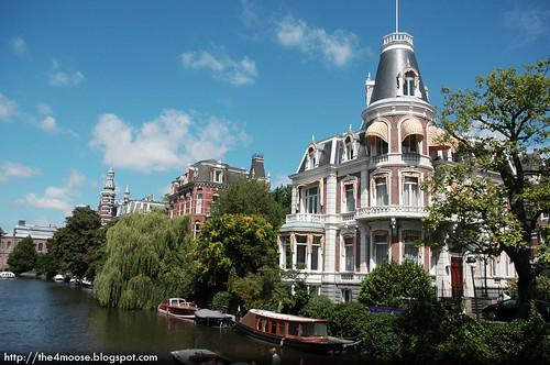 Amsterdam - House near Museumbrug