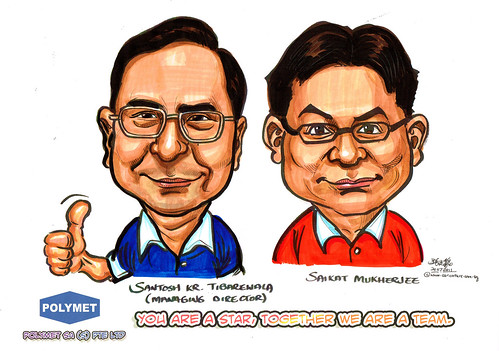 Caricatures for Polymet - 15