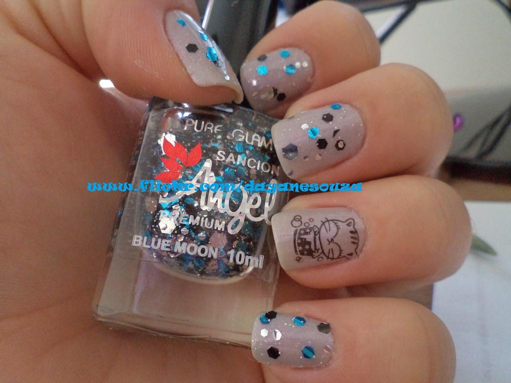 Boho chic - Impala + Blue moon - SA pure glam + konadicure M30