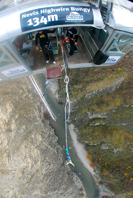 Nevis Bungy, Queenstown, New Zealand