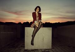Model (GZZT) Tags: street portrait sun berlin girl fashion germany de deutschland model women strasse frau sonne susanne gzzt martinbriese