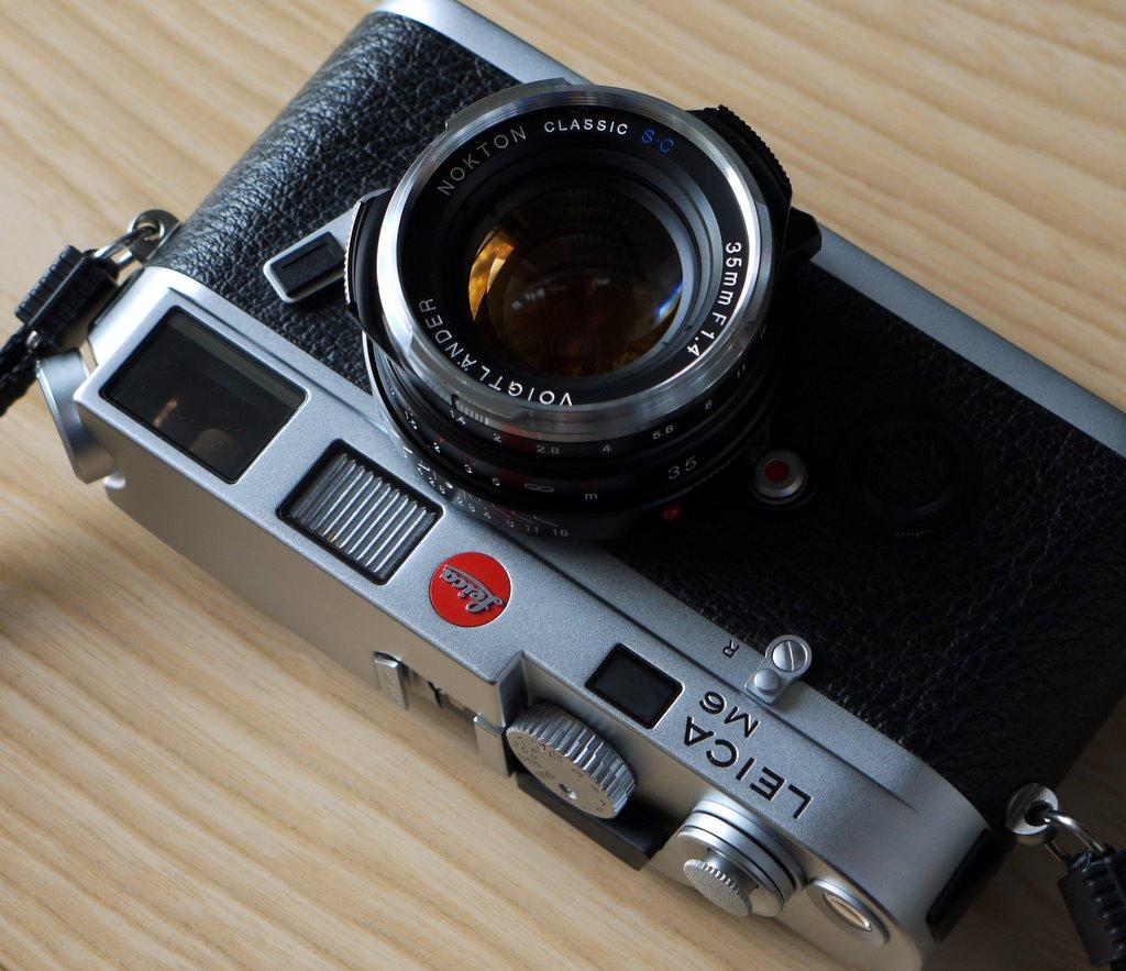 Nokton 35mm SC on M6