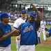 Jose Reyes salutes the crowd
