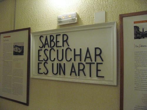 Saber escuchar es un arte - Peña Juan Breva