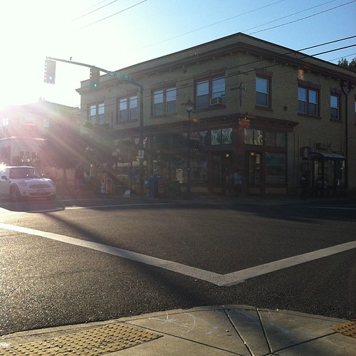 A sunny day in Portland