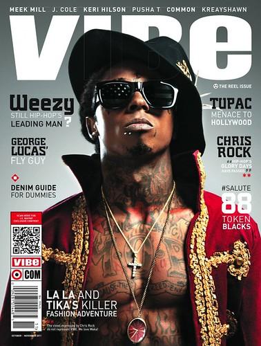 lil wayne vibe magazine cover