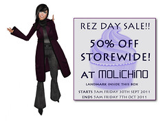 MOLiCHiNO Rez Day Sale! (VixenThibedeau) Tags: clothing sale sl secondlife seraphim vixenthibedeau seraphimsl vixthibedeau molichino