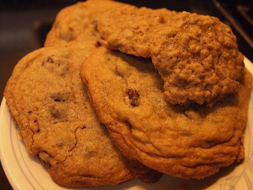 Chocolate Chip and Oatmeal Cookies