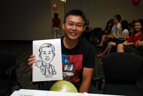 caricature live sketching for iFast Financial Pte Ltd - 10
