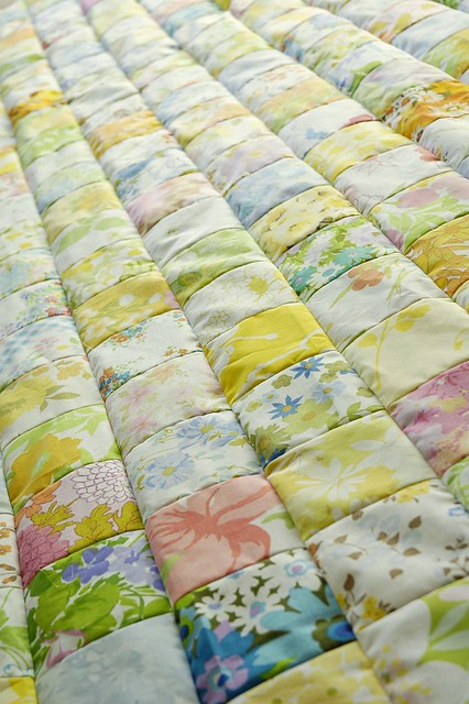 Vintage Sheet Patchwork