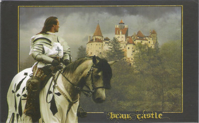 Postcard via walltype from Romania
