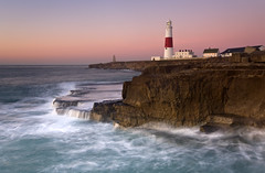 Portland Bill (peterspencer49) Tags: lighthouse seascape southwest sunrise portland coast movement unitedkingdom dorset coastline oceanview seaview portlandbill southwestcoast jurassiccoast dorsetcoast portlandlighthouse southwestcoastalpath seascene eos1dsmarkll peterspencer stunningseascape