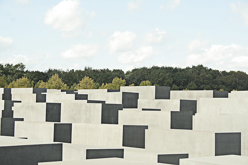 Holocaust Monument, Berlin. by camilamanns