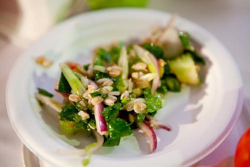 Farro Panzanella Salad from Accademi di Vino
