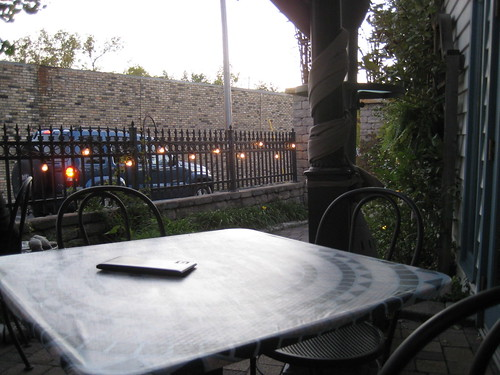 Patio at Ann's Italian Restaurant