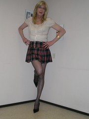 My new mini-skirt. (sabine57) Tags: drag tv cd crossdressing tgirl transgender tranny transvestite crossdresser crossdress transvestism