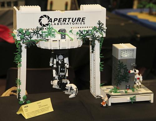 Portal Glados Theory Lego Portal 2 Glados by Catsy