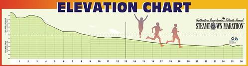Steamtown Marathon Elevation Chart