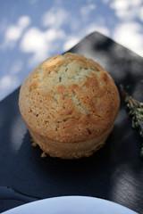Muffins à l'huile d'olive et thym