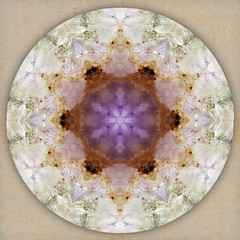 abundant flower (SueO'Kieffe) Tags: digital crystal mandala meditation spiritual ascension auraliteamethyst