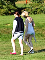 red white beautiful walking shoes long legs very knickers candid short golfcourse blonde redhill shorts brunette nicearse youngwomen canoneos450d walkalongthe