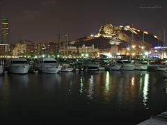 Alicante (Explore) (Charo Castro) Tags: espaa spain sony alicante carlzeiss castillodesantabrbara comunidadvalenciana puertodeportivodealicante